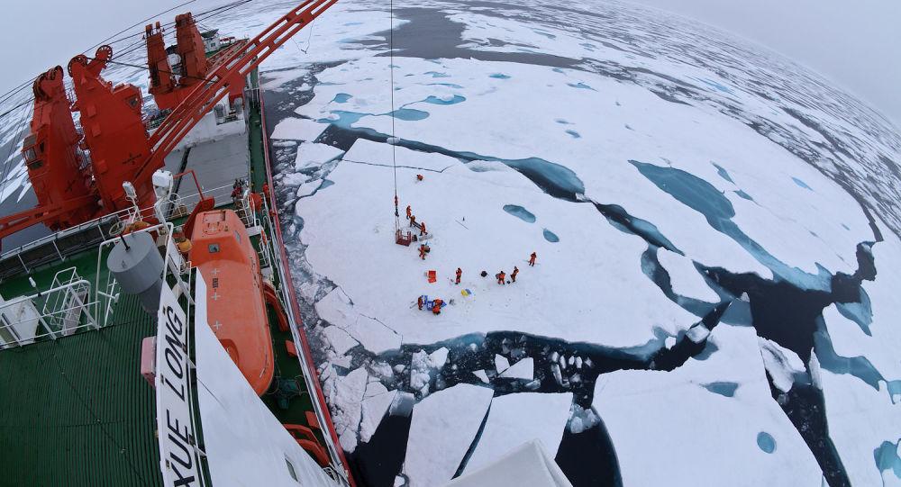 Chiński lodołamacz Xue Long
