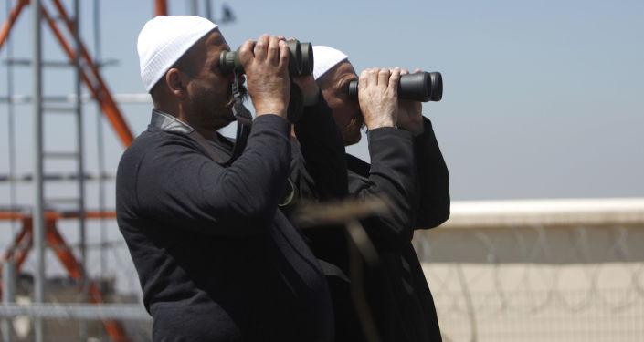 Druzowie prowadzą obserwacje na syryjskiej granicy wzdłuż Wzgórz Golan