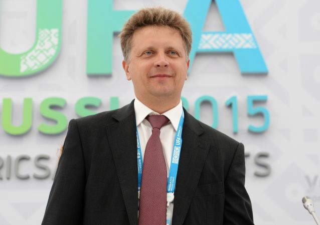 Minister transportu Rosji Maksim Sokołow