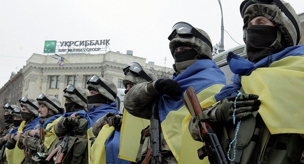 Ukraińcy żołnierze
