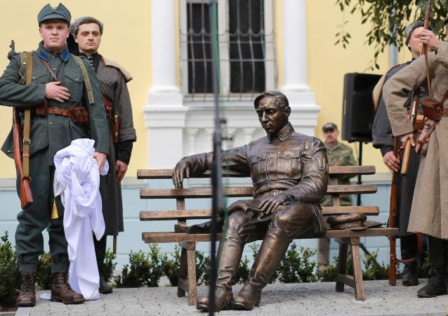 Odsłonięcie w Winnicy pomnika Symona Petlury