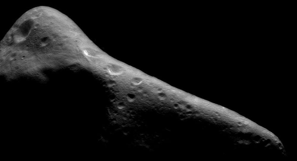 Zdjęcie asteroidy Eros