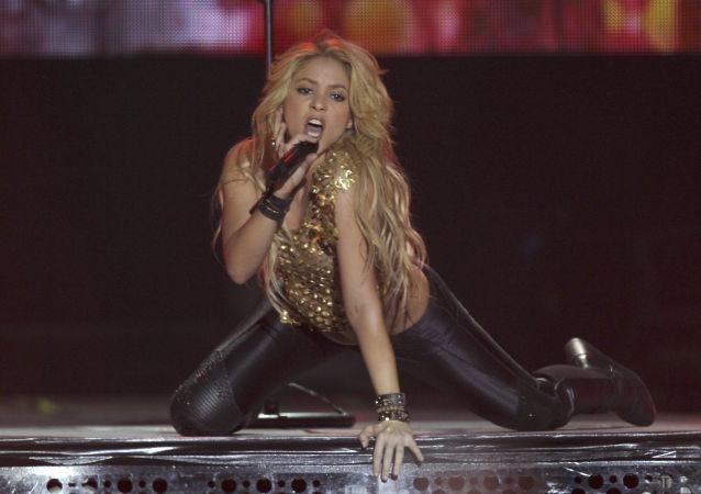 Żona Gerard Piqué Bernabeu - Shakira