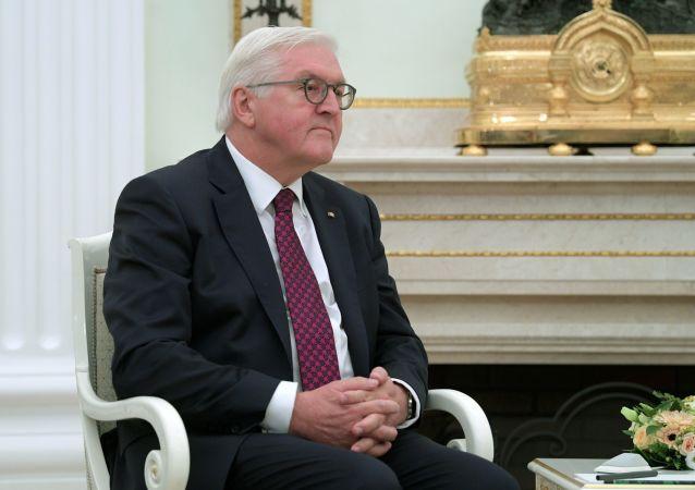 Prezydent Niemiec Frank Walter-Steinmeier
