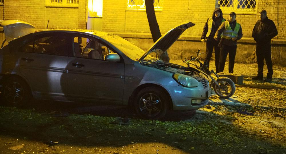 Zamach na deputowanego w Kijowie