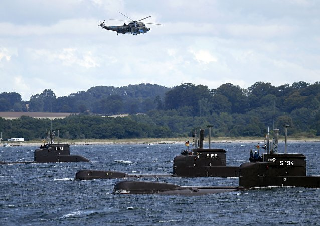 Niemiecka flota podwodna