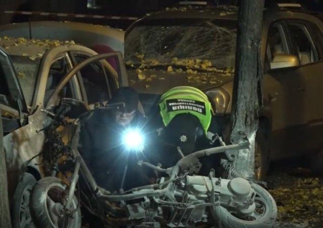 Wybuch w Kijowie