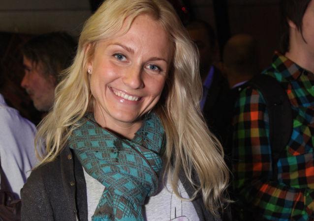 Prezenterka telewizyjna i radiowa, dziennikarka Jekaterina Gordon