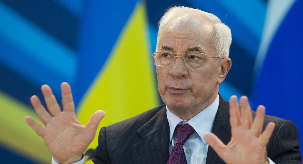 Były premier Ukrainy Mykoła Azarow
