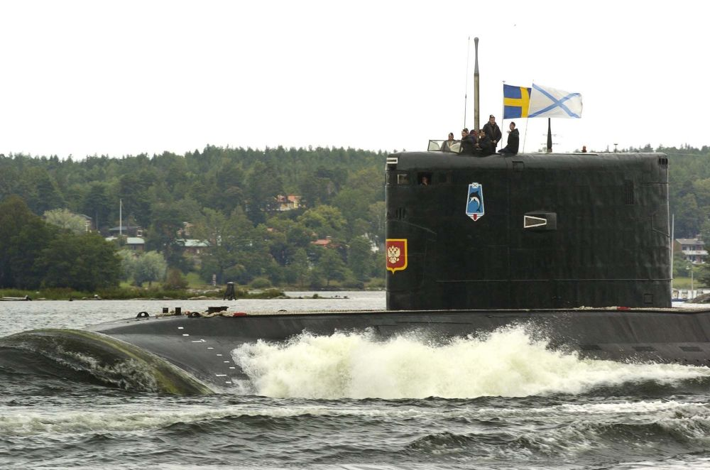 """Okręt o napędzie diesel-elektrycznym projektu 877 Paltus (NATO: """"Kilo"""")"""