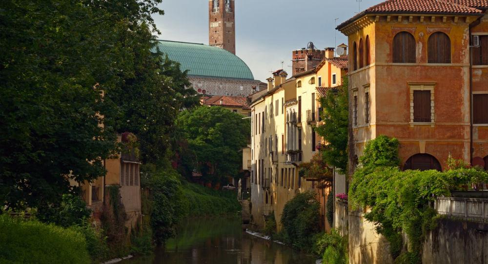 Miasto Vicenza we Włoszech