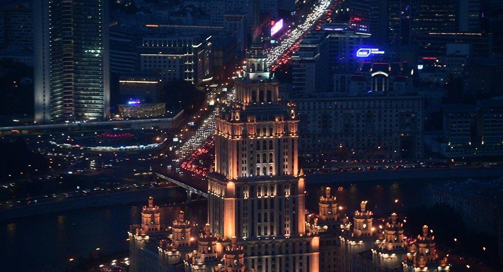 Moskwa nocą