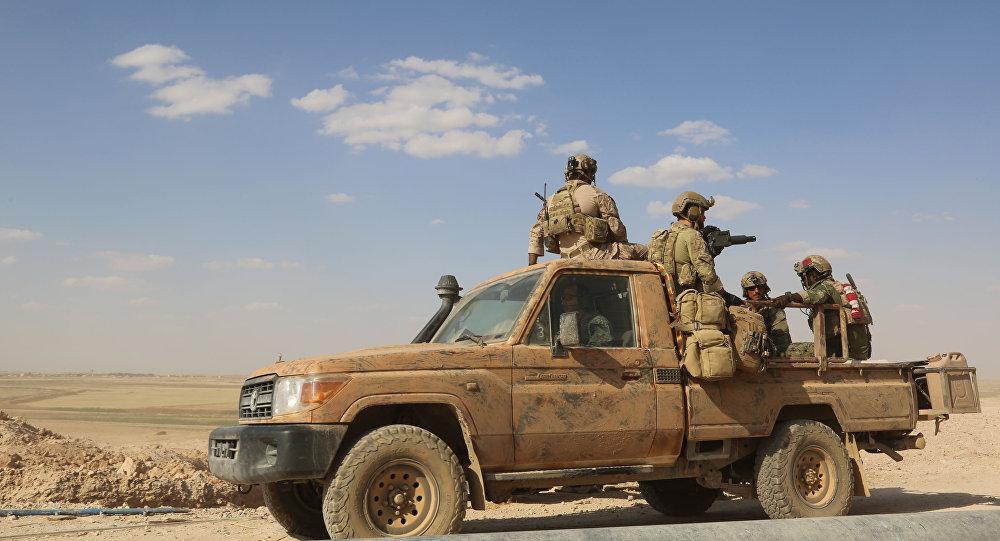 Żołnierze amerykańskich sił specjalnych w Syrii