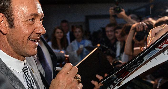 Kevin Spacey w Moskwie
