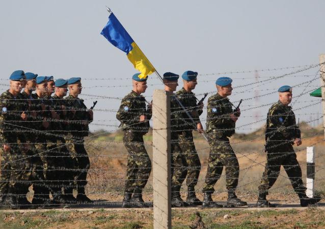 Ukraińscy desantowcy są przeciwni wymianie beretów