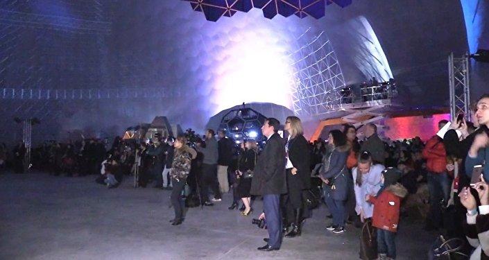 Największe na świecie planetarium otwarto w Petersburgu