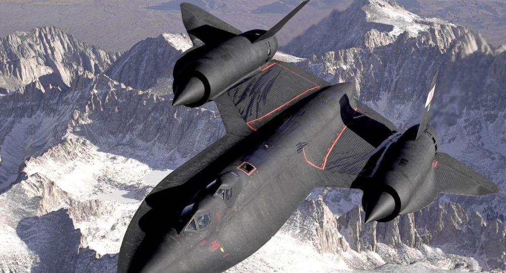 Hipersoniczny samolot dalekiego zwiadu strategicznego amerykańskich sił powietrznych Lockheed SR-71 Blackbird