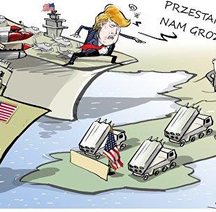Trump chce osiągnąć pokój... siłą