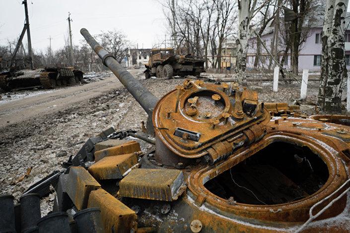Uszkodzony czołg