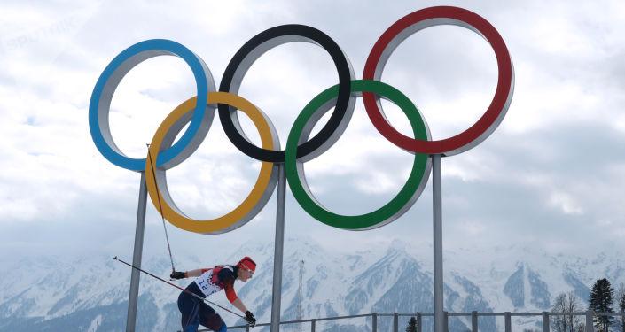 Jewgienija Szapowałowej na zawodach w narciarstwie biegowym wśród kobiet na XXII Zimowych Igrzyskach Olimpijskich w Soczi