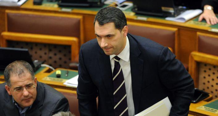 Szef węgierskiego rządu Janos Lazar