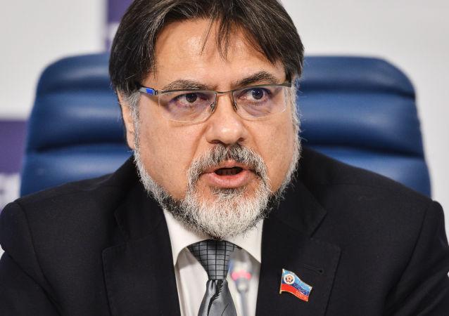 Przedstawiciel ŁRL w grupie kontaktowej ds. uregulowania sytuacji na wschodzie Ukrainy Władysław Dejnego