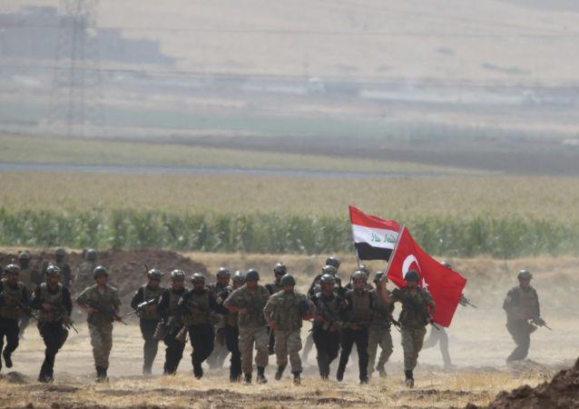 Wojska Turcji i Iraku