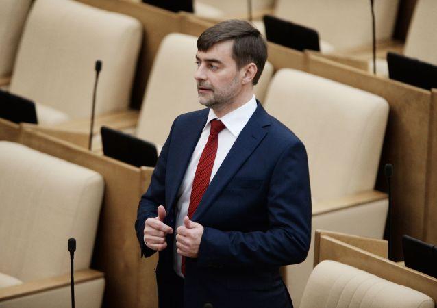Wiceprzewodniczący Dumy Państwowej Siergiej Żelezniak
