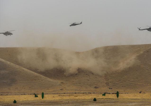Ćwiczenia Organizacji Układu o Bezpieczeństwie Zbiorowym (OUBZ) w Tadżykistanie
