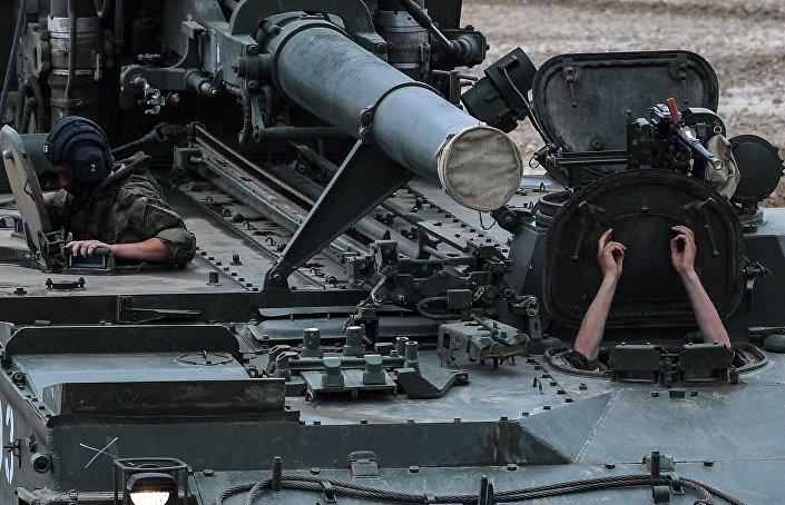 """Radziecki 240-milimetrowy samobieżny moździerz """"Tulipan"""""""