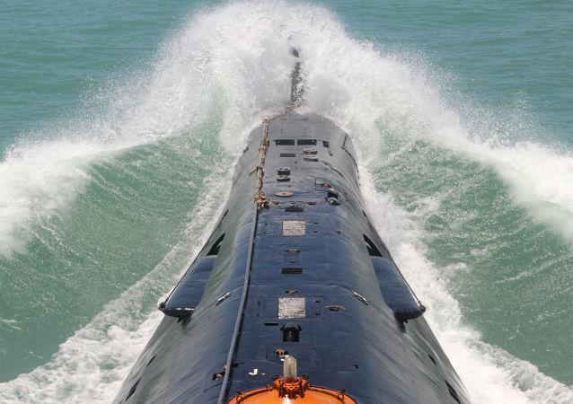 Okręt podwodny chińskiej marynarki wojennej