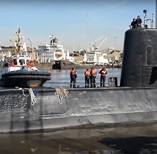 "Argentyński okręt podwodny ""San Juan"""