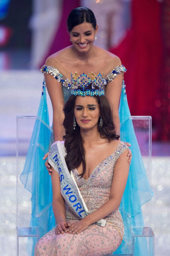 Manushi Chhilar, reprezentantka Indii, która zdobyła tytuł Miss Świata 2017.