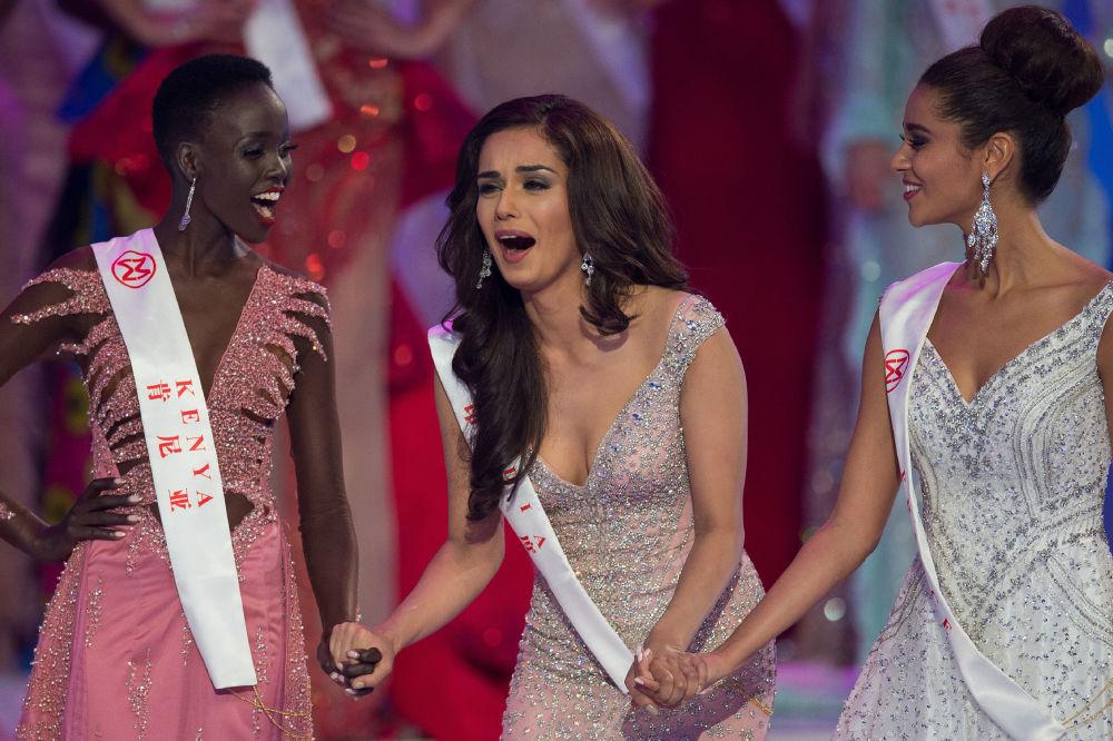 Rosjanka Polina Popowa, zdobywczyni tytułu Miss Rosji 2017 weszła do 10 najlepszych.