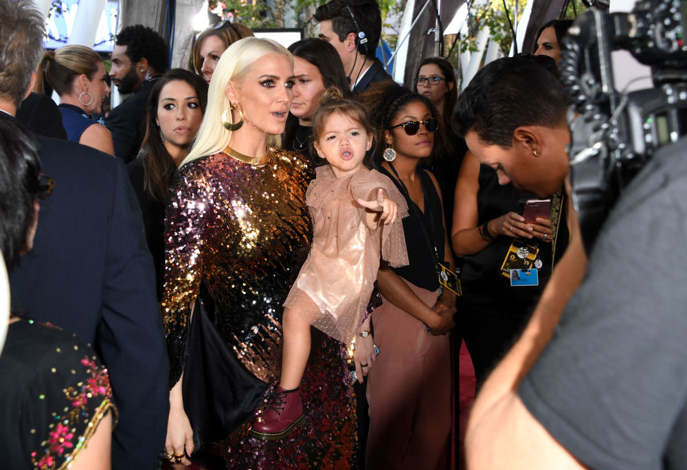 Piosenkarka i aktorka Ashlee Simpson na ceremonii wręczenia nagród American Music Awards 2017 w Los Angeles