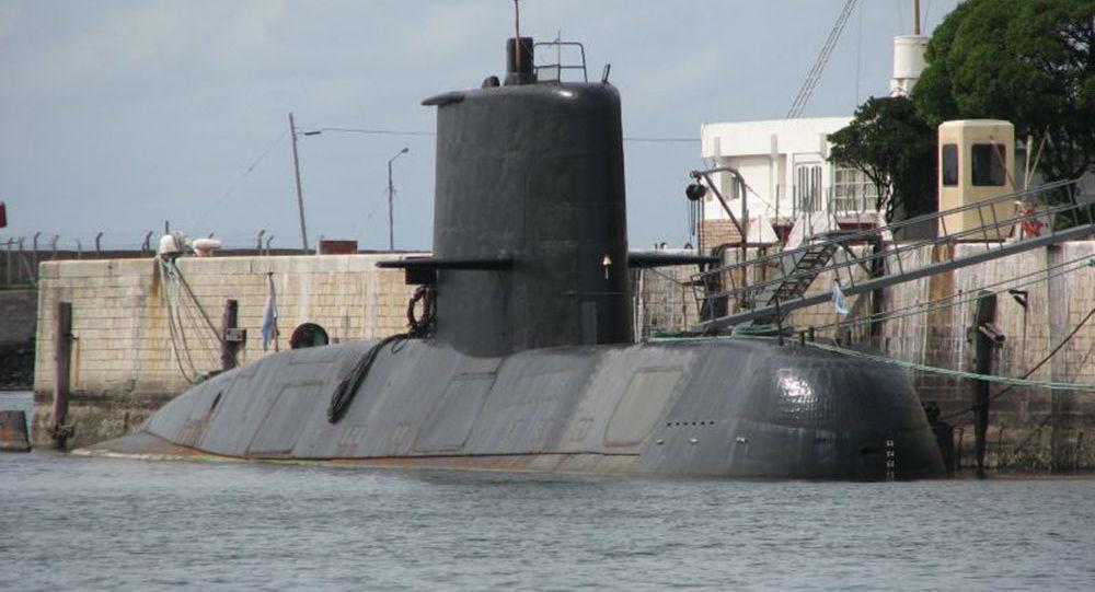 Argentyński pkręt podwodny San Juan