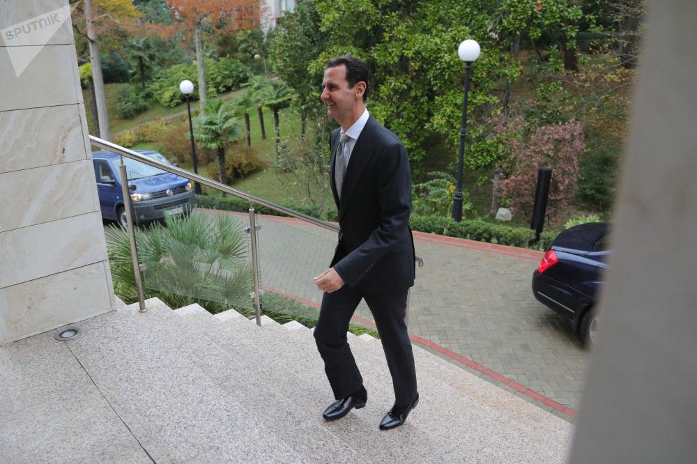 Prezydent Syrii Baszar Hafiz al-Asad
