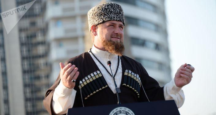 Szef Czeczeńskiej Republiki Ramzan Kadyrow