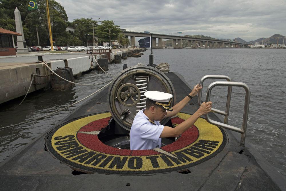 Kapitan brazylijskiej marynarki wojennej Jose Americo Alexandre Dias