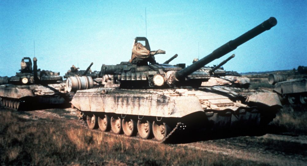 Radziecki czołg T-80