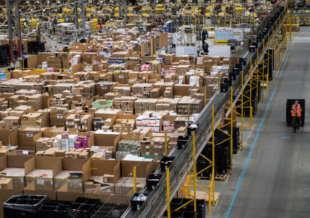 Magazyn firmy Amazon