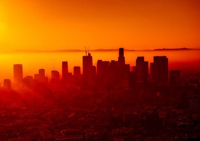 Widok na Los Angeles
