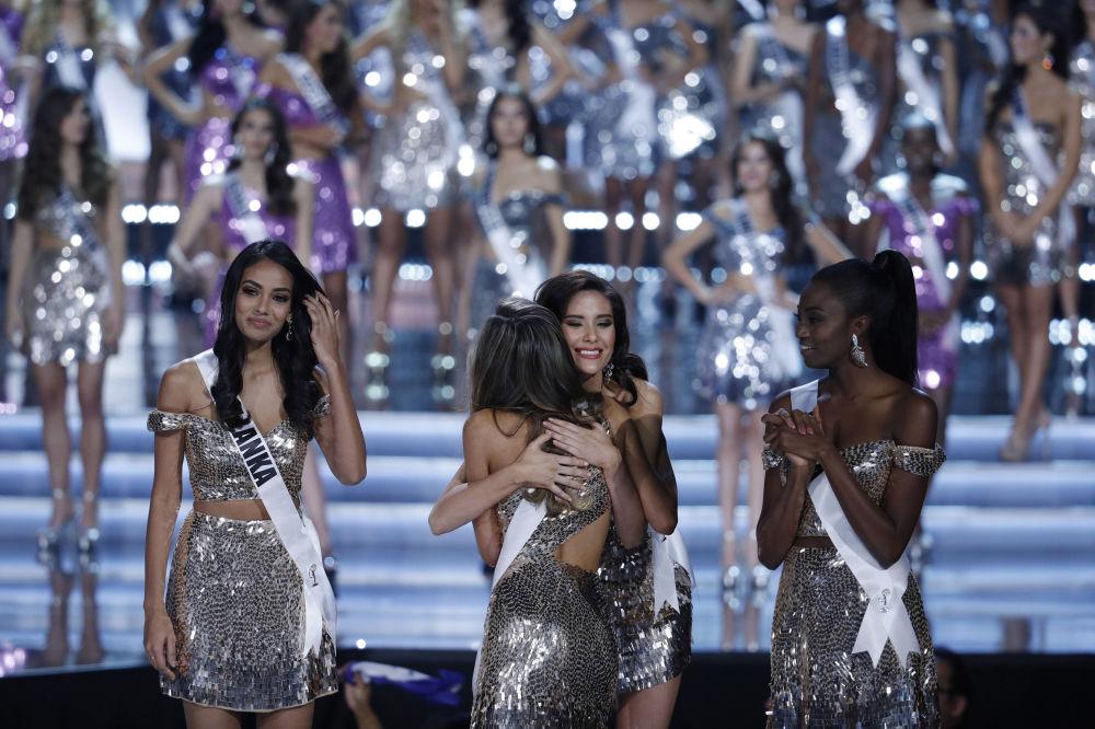 Finalistki konkursu piękności Miss Universe-2017 w Las Vegas