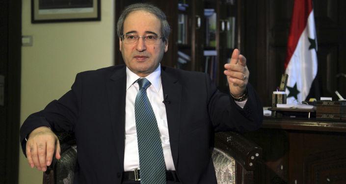Wiceminister spraw zagranicznych Syrii Faisal Mekdad