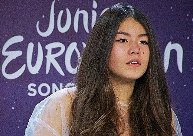 Polina Bogusiewicz, zwyciężczyni Eurowizji dla dzieci 2017