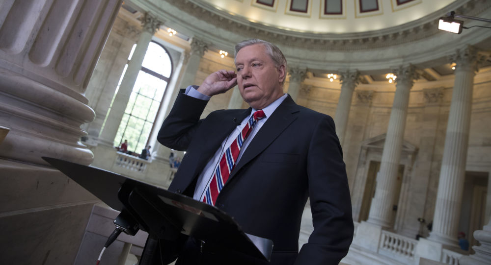 Senator Lindsey Graham w Waszyngtonie