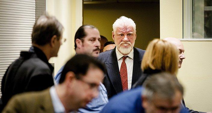 Były przywódca bośniackich Chorwatów Slobodan Praljak