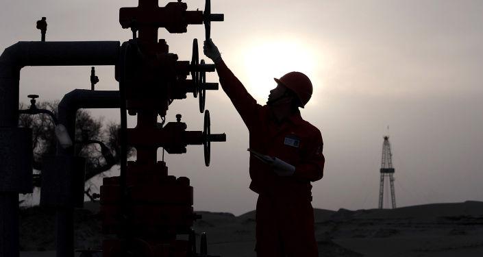 Złoże naftowe PetroChina w Chinach