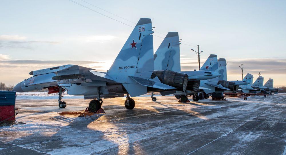 Najnowsze Su-35S na bazie w Karelii