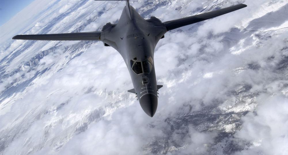 Amerykański bombowiec B-1B Lancer